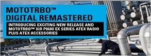 New Release features for MOTOTRBO™ XiR P8600 EX Series ATEX portable radios