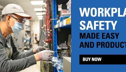 Safety First. Business Protected Promotion!